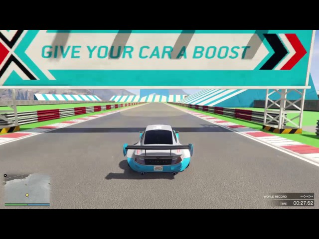 Silverstone Circuit recreation in GTAO - Link in description