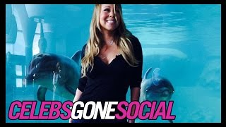 Mariah Carey Swims with Dolphins -- Celebs Gone Social for Nov. 3, 2014