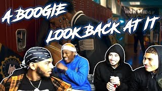 A Boogie Wit Da Hoodie - Look Back At It [Official Music Video] - REACTION VIDEO