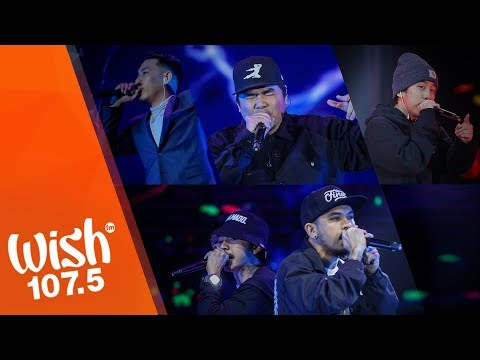 Gloc-9, Shanti Dope, Al James, Loonie and Ron Henley's Hip-hop Performance LIVE on Wish 107.5
