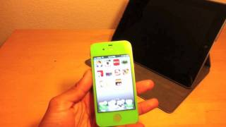 GREEN iPhone 4s 16GB Glass Colorswap Review(Here is a review of my iPhone 4s that was converted to green by me., 2012-01-02T11:04:36.000Z)