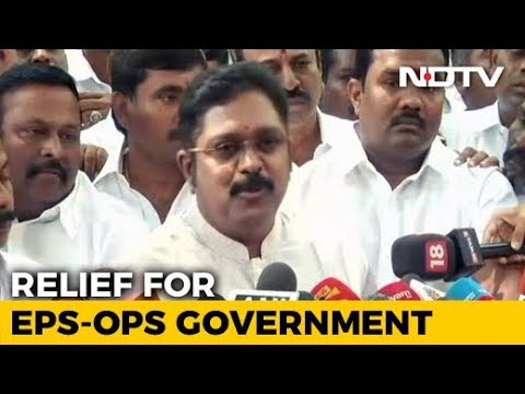 Court Victory For Tamil Nadu Government, Bad News For Rebel Dhinakaran