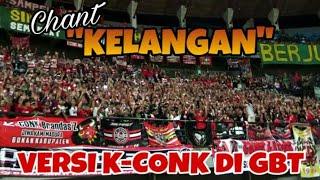 K-Conk mania Nyanyikan Chant Kelangan versi Madura di GBT Surabaya | Persebaya vs Madura United