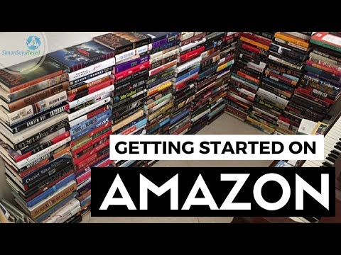 How I got started selling books on Amazon - How to sell on Amazon