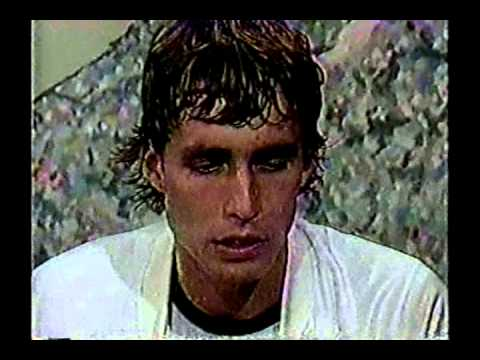 USO 1982: Lendl interview following his SF win over McEnroe