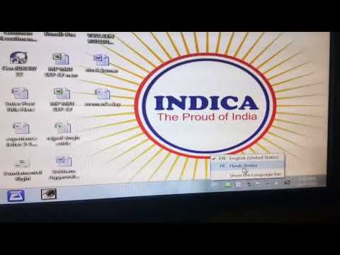 Mangal font installation in windows 7 from indica computers