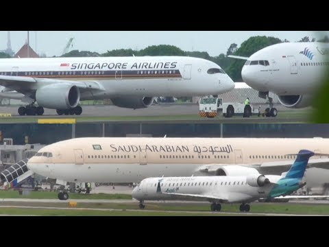 Plane Spotting at Bandara Soekarno Hatta (Part 1)