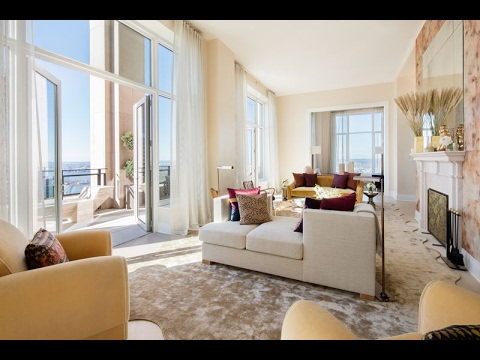30 Park Place Four Seasons Duplex Penthouse 78B $29.5 million apartment tour New York City