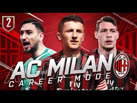 FIFA 19 AC MILAN CAREER MODE #2 - 150 MILLION SPENT ON NEW TRANSFERS!!!