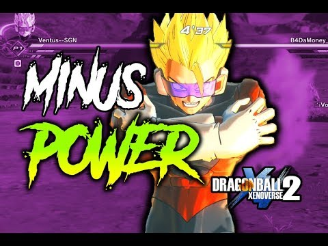 MINUS POWER IS OVER POWERED! Dragon Ball Xenoverse 2 |