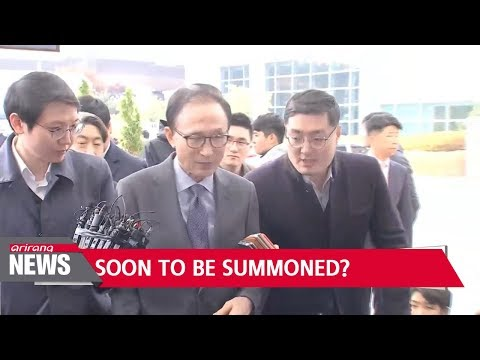 Former President Lee Myung-bak could face bribery charges after aide arrested