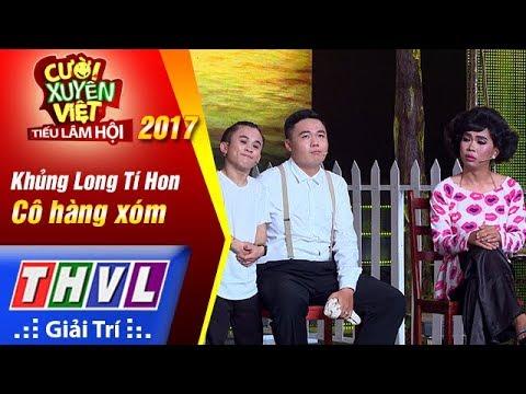 THVL   Cười xuyên Việt – Tiếu lâm hội 2017: Tập 5[2]: Cô hàng xóm - Khủng Long Tí Hon