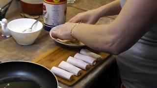 Крабовые палочки в кляре с сыром и чесноком!!! Классная закуска под пивко!!!