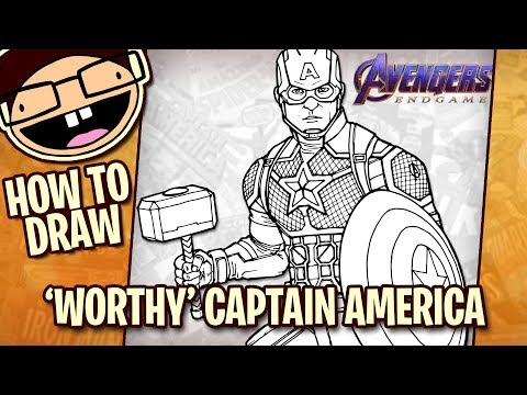 how-to-draw-captain-america-with-mjolnir-(avengers:-endgame)-|-narrated-step-by-step-tutorial
