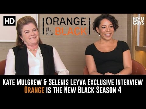 Kate Mulgrew & Selenis Leyva Exclusive   Orange is the New Black Season 4