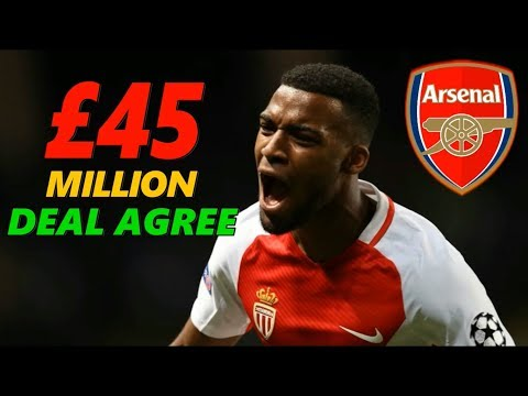 TRANSFER NEWS : LEMAR TO ARSENAL ! DEAL AGREE ! £45M DEAL WITH MONACO