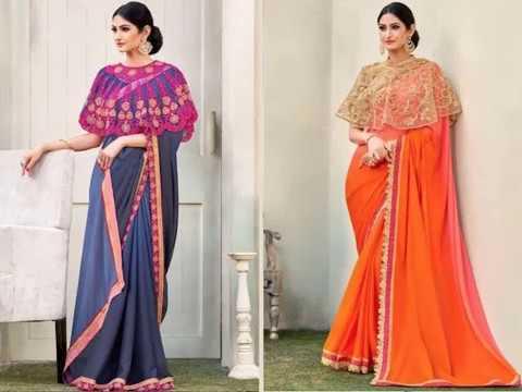 Bridal Wedding Saree Designs | 2019 Bridal Saree Designs