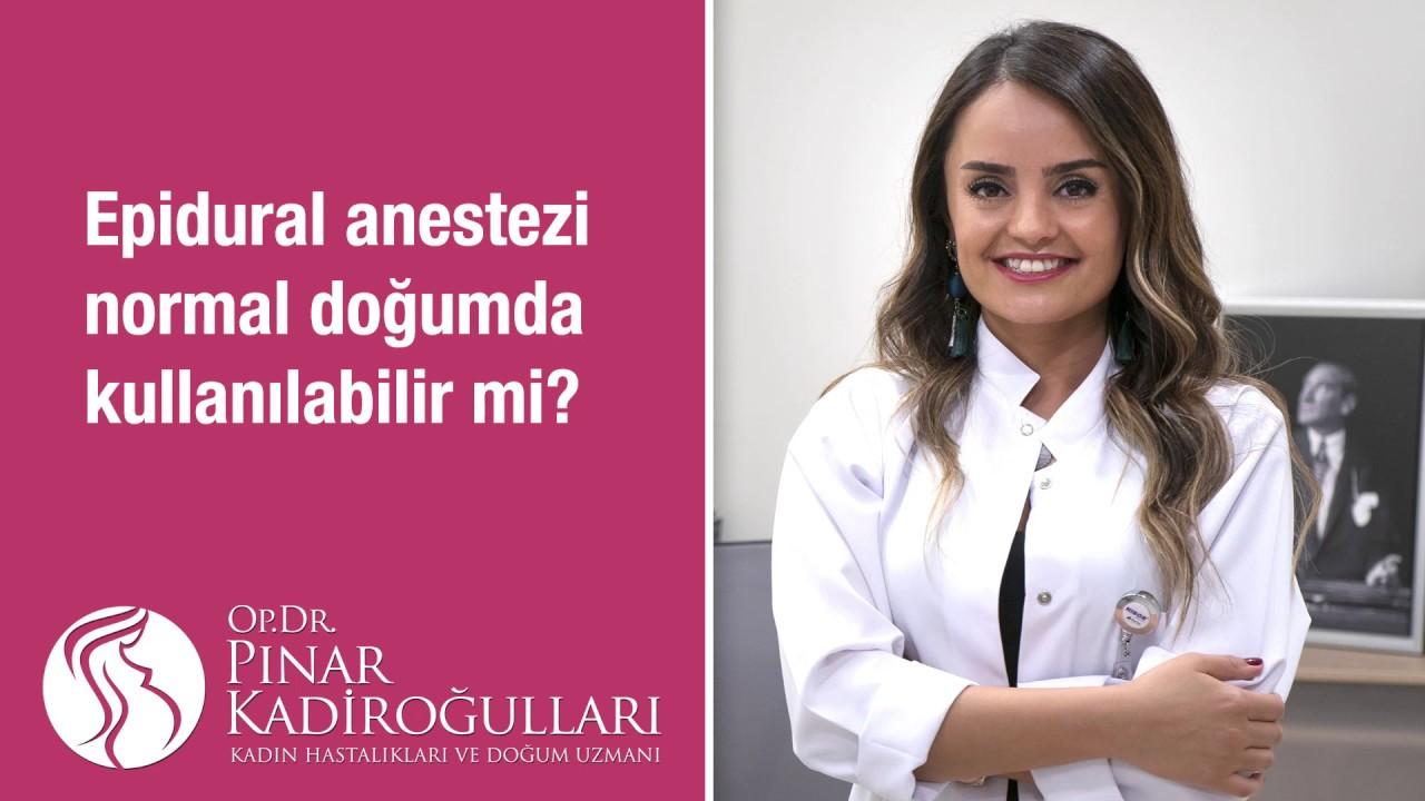 Epidural anestezi normal doğumda kullanılabilir mi?