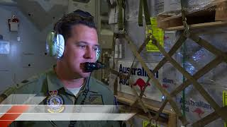Second flight of life-saving equipment arrives in Tonga