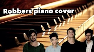Robbers by The 1975 piano cover