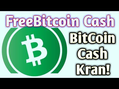 FreeBitcoin Cash / SARMOYASIZ BITCOIN CASH ISHLASH 💰😁 KRAN SAYT!
