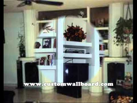CWI-Custom Wallboard Interiors - Custom Built-in Wall Units ...