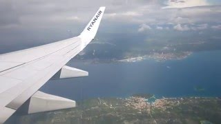 hd ryanair boeing 737 8as wl ei evx taxi takeoff zadar airport ldzd 28 04 2014