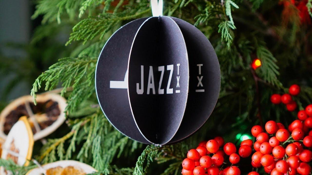 DIY Drink Coaster Christmas Ornaments