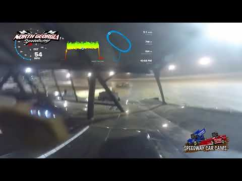 #T31 Shane Tankersley - Speedometer - Super - 11-11-17 North Georgia Speedway - In Car Camera