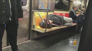 Riders Want Answers To Subway Homeless Problem