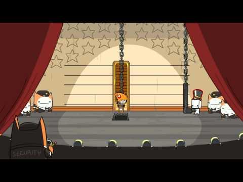 BattleBlock Theater - First boss/race!