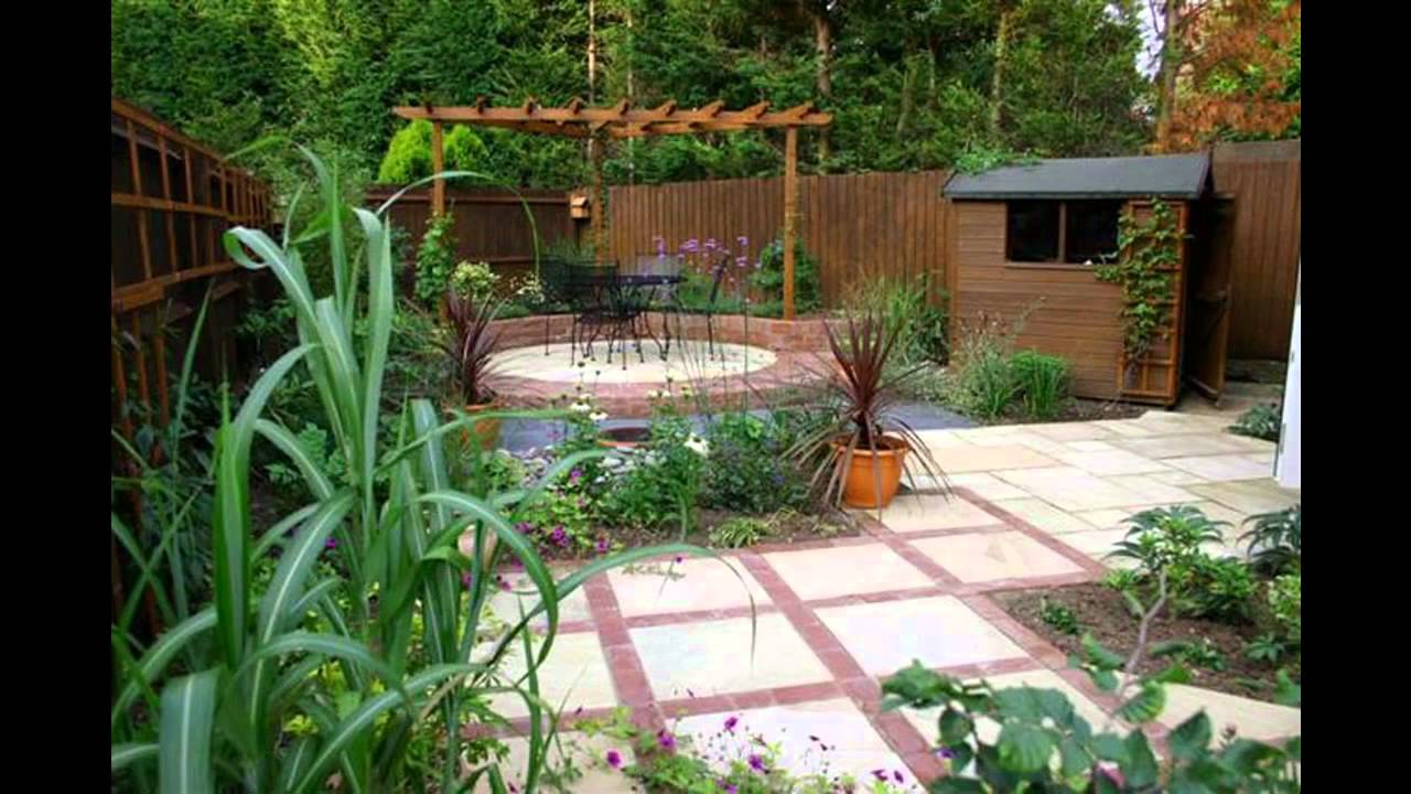 Amazing Garden design for small gardens - YouTube on Amazing Backyard Ideas id=39733