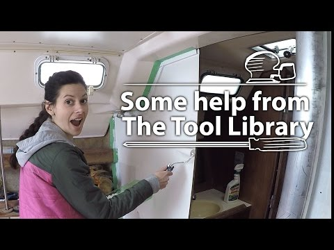 Library Tools - DIY Sailboat Refit [ 17 Sailing Nova Scotia ⛵]