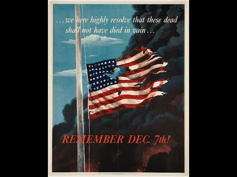 Remember Pearl Harbor - December 7th