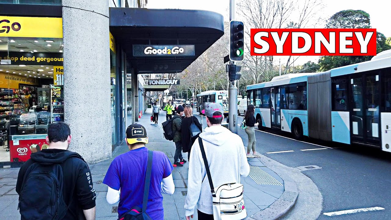 Winter in SYDNEY 2020 | Walking To St James Station + Station Tour, Sydney Australia