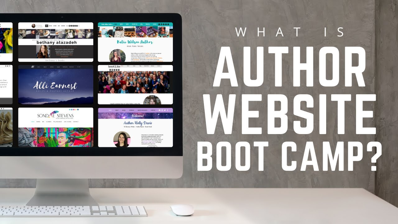 Author Website Boot Camp Promo Video