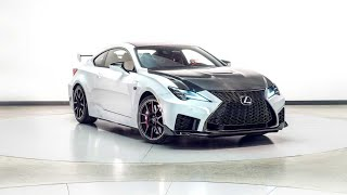 2020 Lexus RC F Track Edition Walk around Review And First Look
