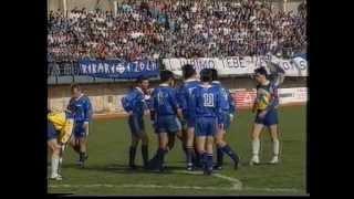Zgodovinski posnetek derbija med Koprom in Izolo (leto 1992)