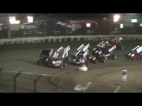 7th Annual Bill Waite Jr. Memorial Classic IRA/MOWA 410 Sprint B-Main LaSalle Speedway 9/24/17
