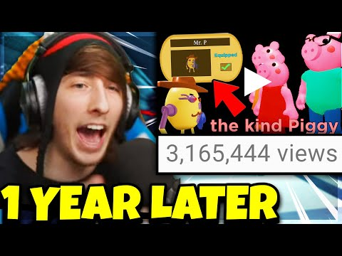REACTING TO THE PIGGY TRUE ENDING.. (One Year Later)