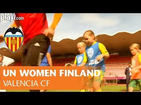 VALENCIA CF: CLINIC   UN WOMEN FINLAND   ONU MUJERES FINLANDIA