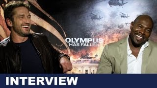 Gerard Butler & Antoine Fuqua Interview - Olympus Has Fallen 2013 : Beyond The Trailer