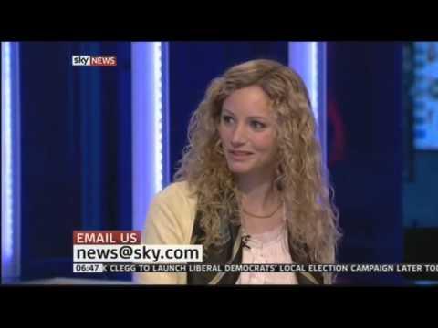 Suzannah Lipscomb Sunrise Paper Review Sky News April 2012