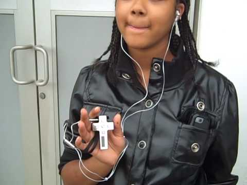 Promotional for My MP3 Cross Player.com