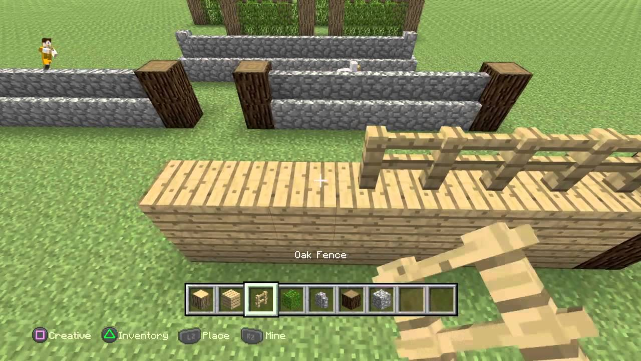 Minecraft fence Pretty Minecraft Fence Ideas Youtube Minecraft Fence Ideas Youtube
