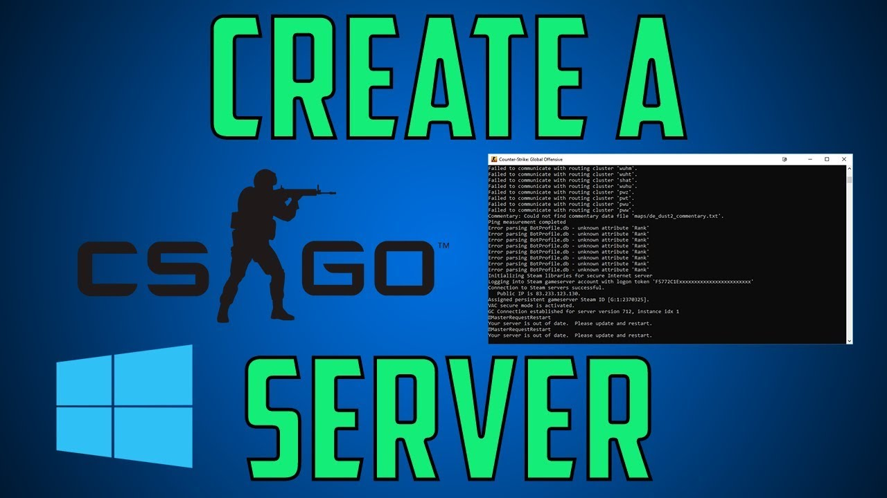 Create a CS:GO Server on Windows
