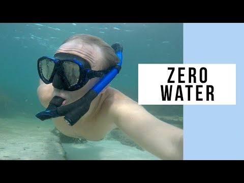 No Water In Your Mouth With The Wonice Water-Air Separated Dry Top Snorkel Mask