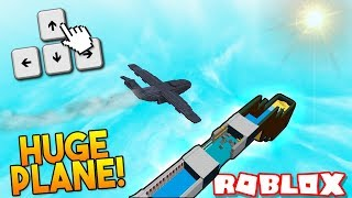 *HUGE* CONTROLLABLE PLANE!✈️ | Build a boat For Treasure ROBLOX