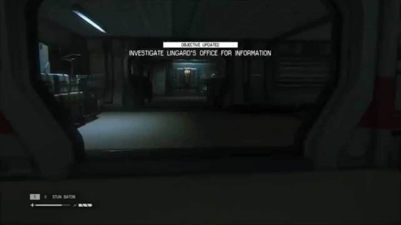 Alien Isolation Investigate Lingard's Office for Information