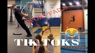 Tik Toks Sports Fails | Athlete Fails Compilation